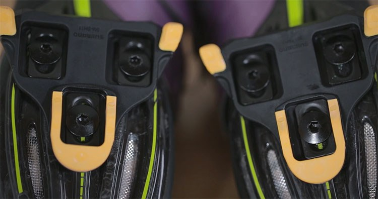 Cleat Placement on Clipless Pedals