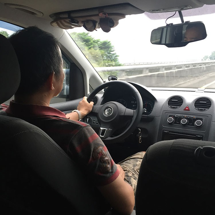 Hired Driver in Taiwan
