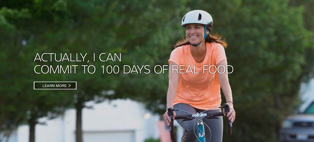 Actually I Can Commit to 100 Days of Real Food