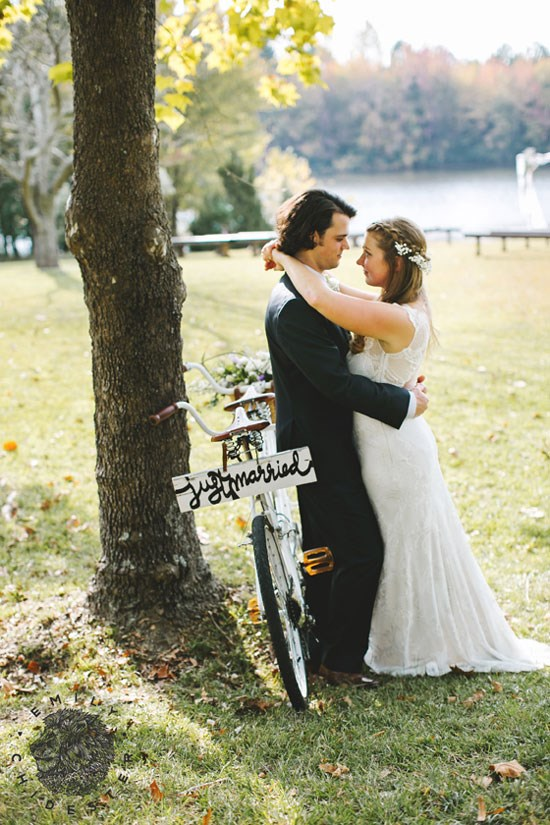 Bike Themed Wedding