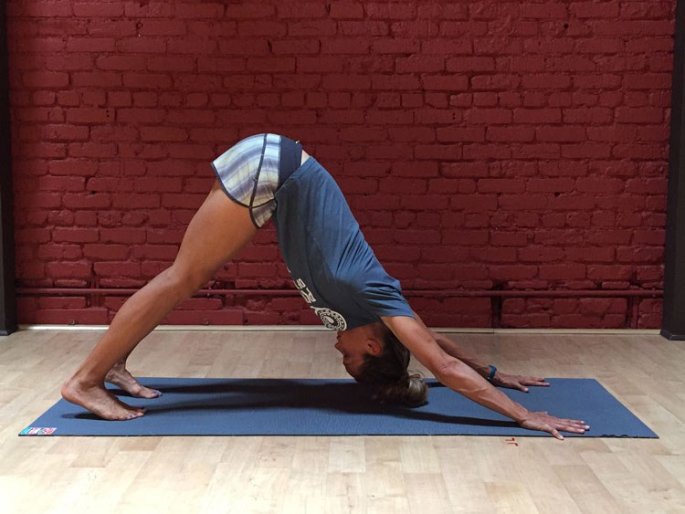 Stretching for Cyclists: Downward Facing Dog