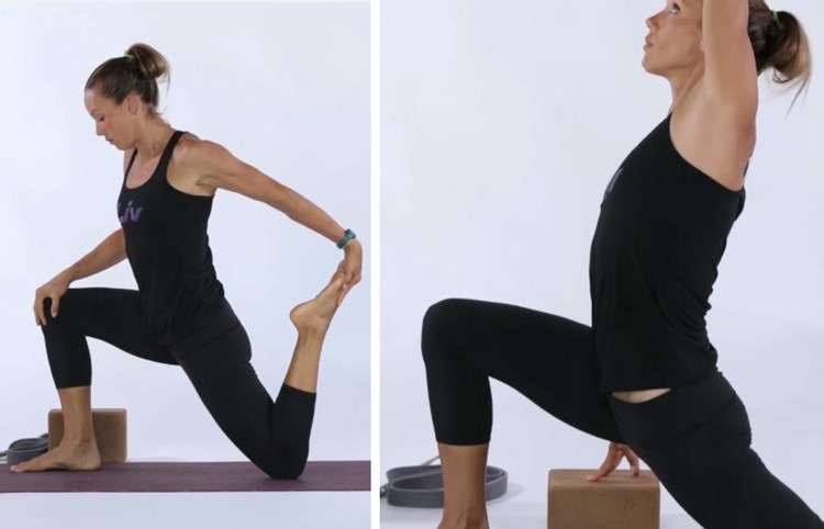 Stretching for Cyclists: Low Lunge and Side Stretch