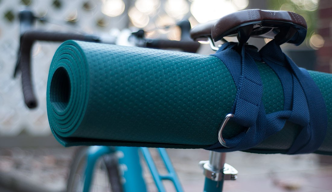 Yoga Mat Bike Strap