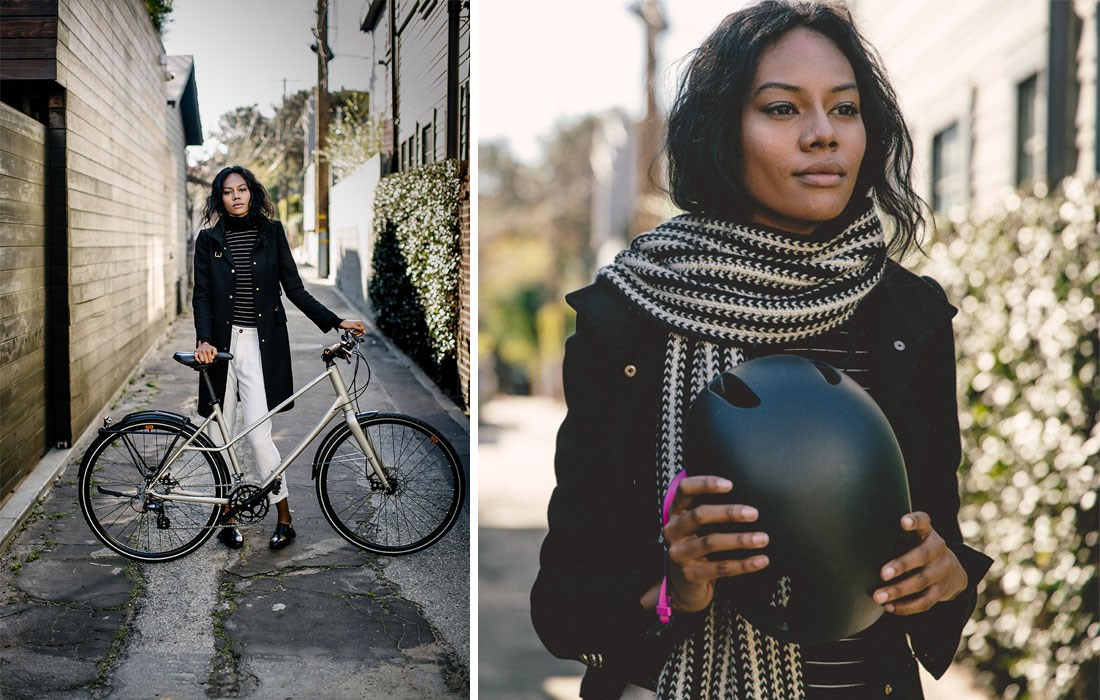 How to Bike to Work and Still Look Good