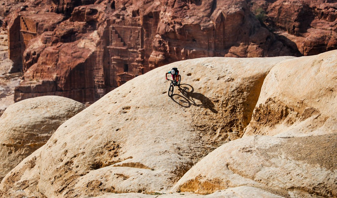 Mountain Biking near Petra