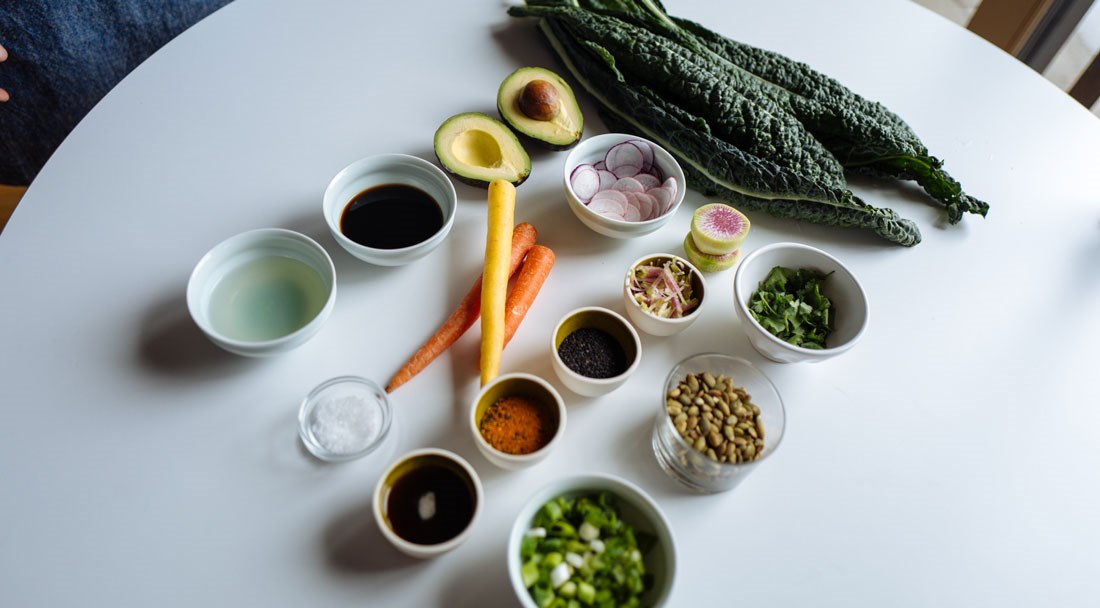 Ingredients for Rice Bowls