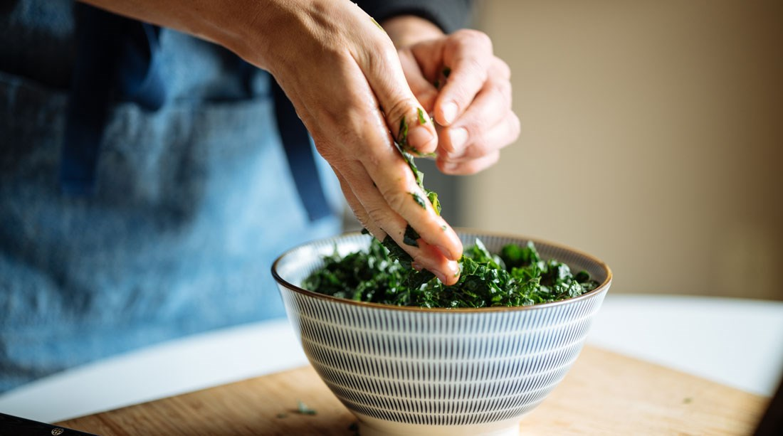 Kale for Rice Bowls
